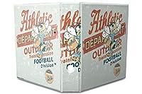 バインダー 2 Ring Binder Lever Arch Folder A4 printed American football