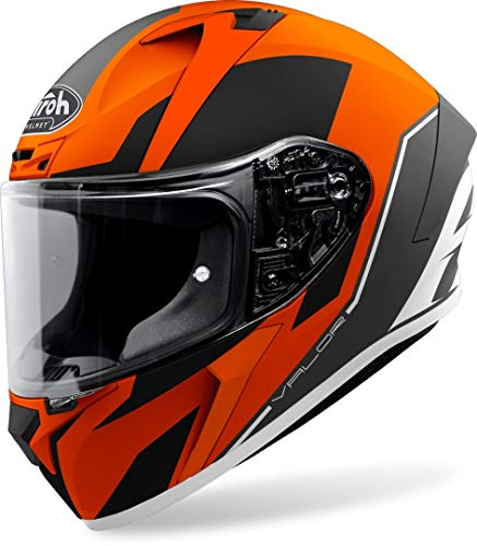 Airoh Valor Casco, Accesorio Unisex para Adultos, Naranja (Orange Matt), XL