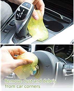 Keyboard Cleaner Universal Keyboard Cleaning Gel Dust Cleaner for Keyboards, Car Vent, Camera, Telephone, Calculator,...