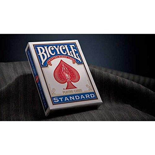 Mazzo Regolari Bicycle standard- dorso blu-formato poker - rider back - carte da gioco - con omaggio di Fabbrica Magia