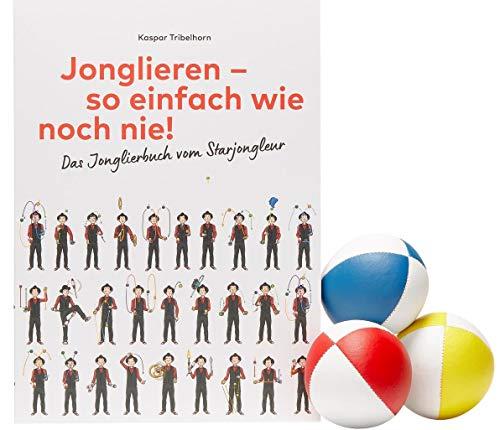 «Jonglieren - so einfach wie noch nie!» mit 3 Jonglierbällen: Jonglierbuch mit 3 Jonglierbällen
