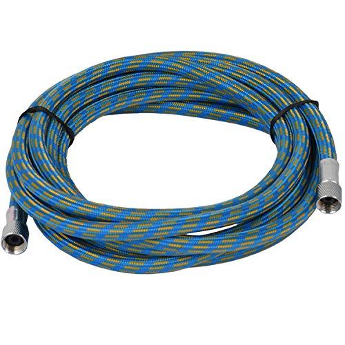 Agora-Tec® Airbrush slange AT-H-01, 3 meter slange for airbrush guns 2 x 1/8 inch (8mm) innvendig gjenge