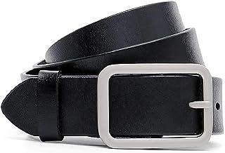أحزمة جلدية للنساء من إيرندا بتصميم جينز دبوس مشبك حزام الخصر