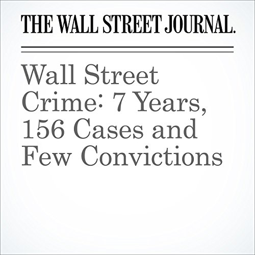 Wall Street Crime: 7 Years, 156 Cases and Few Convictions audiobook cover art