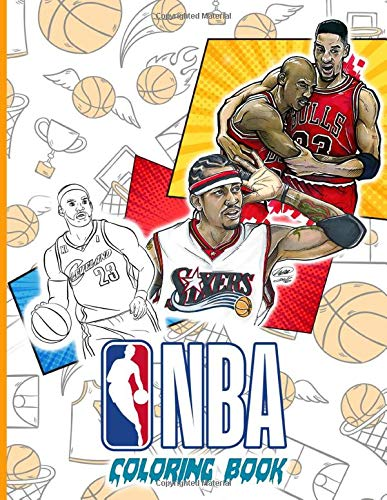 Nba Coloring Book: Nba Coloring Books For Adults, Tweens