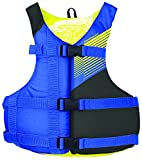 Stohlquist Waterware Fit Adult PFD Life Vest - Blue + Black, Oversize/XL Size Fitting - Easily Adjustable for Full...