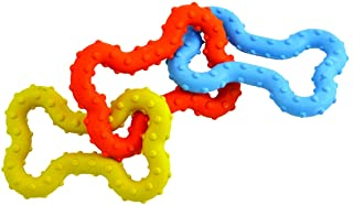 Tug-o-War Rubber Chew and Fetch Toy for Small Dogs, Dog Tug Toy by Petstages