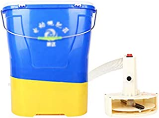 Garden Spreader, Manure Spreader/Salt Spreaders/Grit Spreader/Fertilizer Machine/Handheld Spreader, 20l Capacity, for Road...