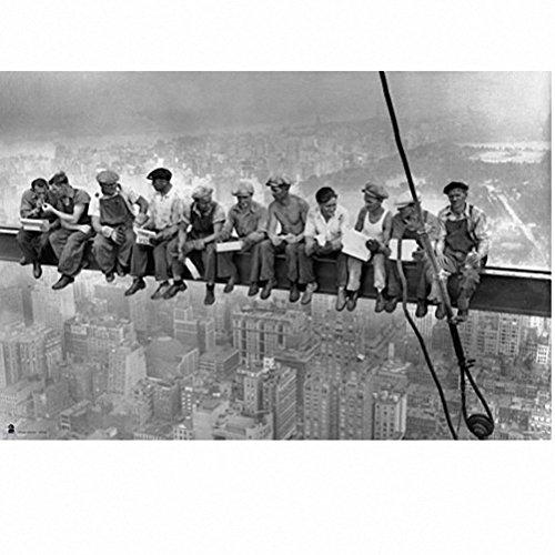 Grupo Erik - Póster New York- Obreros, 61x91,5 cm