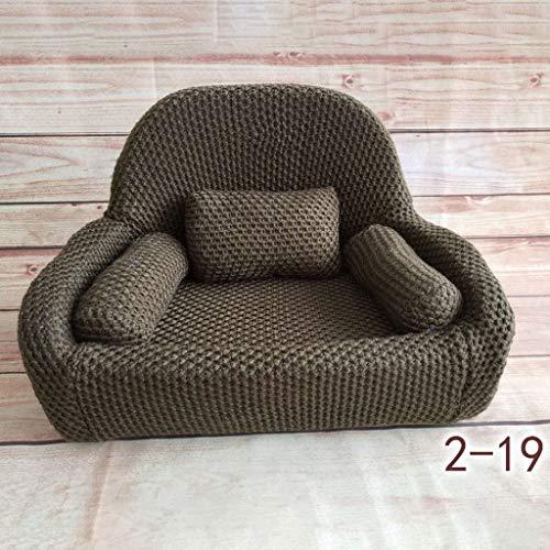 S-TROUBLE 4 Stück/Set Neugeborene Fotografie Requisiten Baby Posing Sofa Kissen Set Stuhl Dekoration