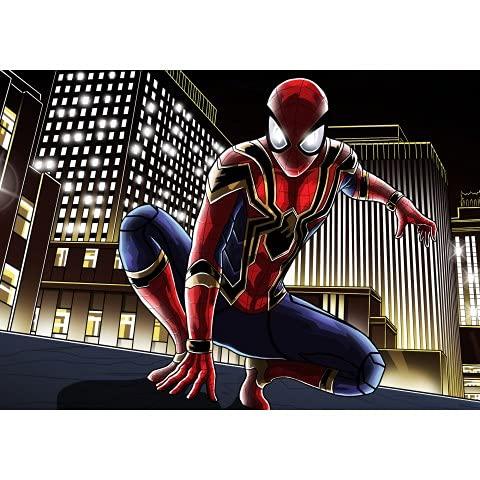 ruyanruomeng Spiderman Film Super-Héros Affiche Toile Peinture Décor À La Maison Décoration Murale Salon Affiches Et Impressions Mur Art Photo A908 Pas De Cadre 40X60Cm