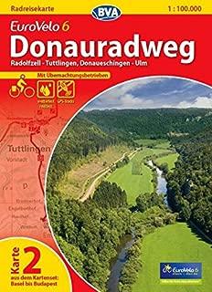 Eurovelo 6 / K.2 - Radolfzell - Ulm GPS wp r/v cycling map (German Edition)