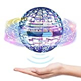 Flying Orb Drone Ball Outdoor Toys Magic Controller Space Orb Fly Toy Built-in RGB Lights Boomerang Spinner Drone Hover UFO Safe Magic Flying Ball Toy Gifts for 7 8 9 10 Year Old Boys