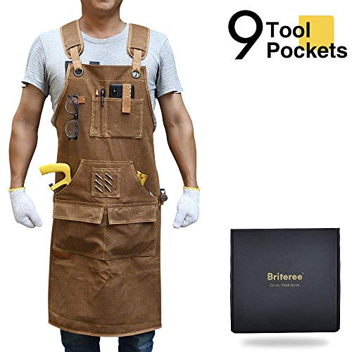 Briteree Woodworking Aprons