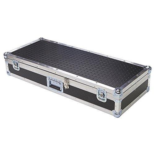 Keyboard 1/4 Ply ATA Light Duty Case with Diamond Plate Laminate Fits Yamaha Psr-s710 Keyboard