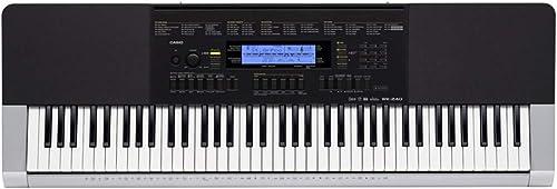Casio WK 240K7 Electronic Keyboard Black And Silver