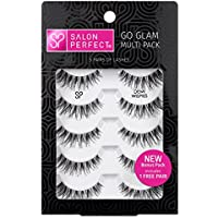 5-Pairs Salon Perfect Go Glam Multi Pack Lashes (Demi Wispie)