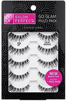 5-Pairs Salon Perfect Go Glam Multi Pack Lashes