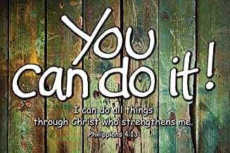 Universal Designs You Can Do it Poster - Religious & Inspirational Posters
