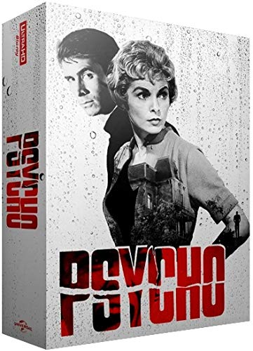 Psycho (1960) - 60th Anniversary Exklusiv Full-Slip Steelbook Edition 4K UHD + (Blu-ray Deutscher Ton) - EverythingBlu Ultra HD BluPack 005 (Import) Blu-ray