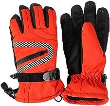 MU Wodoszczelne rękawice termiczne do jazdy na nartach, snowboardzie, termiczne, dla chłopców i dziewczynek, dzieci, zimow...