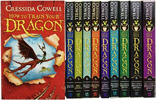 How To Train Your Dragon Collection - 10 Books [Paperback] [Jan 01, 2017] Cressida Cowell