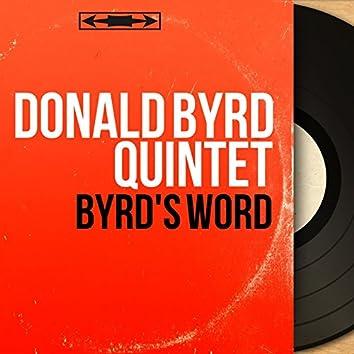 Byrd's Word (Mono Version)