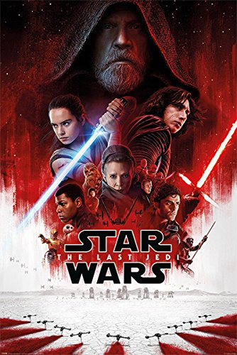 Star Wars Poster Episode 8 (afficheprincipale) 61 cm x 91,5 cm