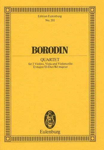Mirror PDF: ボロディン: 弦楽四重奏曲 第2番 ニ長調/オイレンブルグ社/スコア 弦楽四重奏