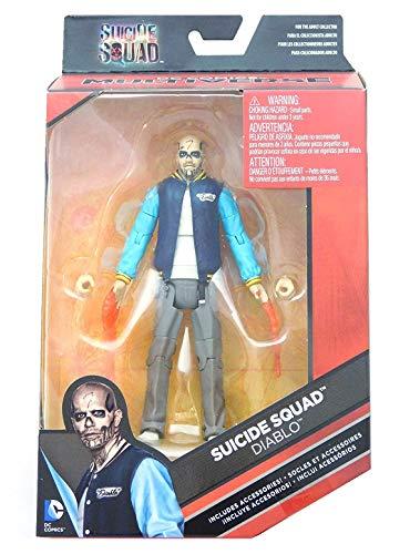 DC Comics Multiverse, Suicide Squad Movie, Diablo Action Figure, 6 Inches by DC Comics