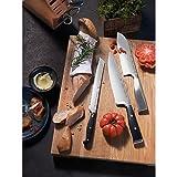 WMF Spitzenklasse Plus Santokumesser 30 cm Spezialklingenstahl, Messer geschmiedet, Performance Cut, Kunststoff-Griff vernietet, Klingen 16 cm - 5