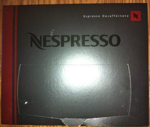 50 Nespresso Espresso Decaffeinato Coffee Cartridges PRO New by Nespresso