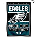 WinCraft Philadelphia Eagles 2017 Football Champions Double Sided Garden Flag