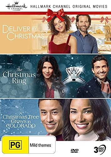 Hallmark Christmas 3 Film Collection (Deliver by Christmas / The Christmas Ring / A Christmas Tree Grows in Colorado)