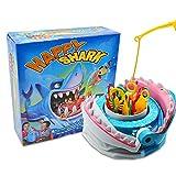 Juego de mesa de tiburón, trampa, juego de pesca tiburones creativos mordedores de dientes fiesta, escritorio juego complicado vamos a pescar antes que el tiburón juego de mesa de juguete Safe Shark