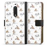 DeinDesign Étui Compatible avec Huawei Nova Plus Étui Folio Étui magnétique Winnie l'ourson...