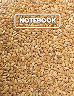 Seed Grain Notebook: College Ruled Notebook And Journal For Writing, Listing, Taking Notes, Gifts Idea, Large Size ( 8.5x11 ) Notebook To Write In