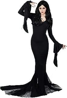 Women's Vintage Morticia Dress Plus Size