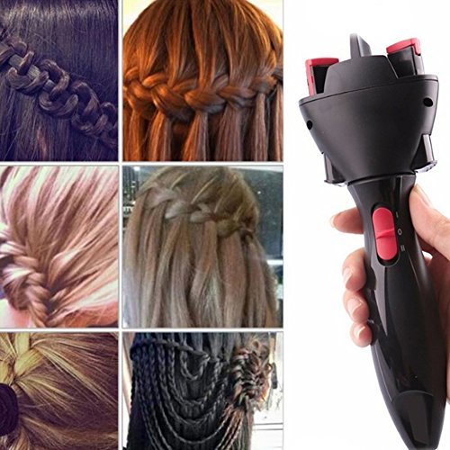 WQD USB Chargable Electric Hair Braid Twister Automatic Knitted DIY Hair Braiders