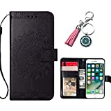 AncaseLeather Phone Case for Huawei Honor 7X Flip Wallet