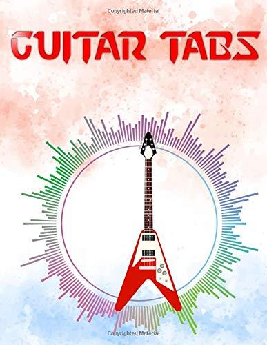 Ultimate Guitar Tab Treasure Chest: Bass Guitar Tablature Manuscript Notebook Size 8.5 X 11 Inch Matte Cover Design Cream Paper Sheet ~ Play - Tablature # Guitar120 Pages Standard Print.