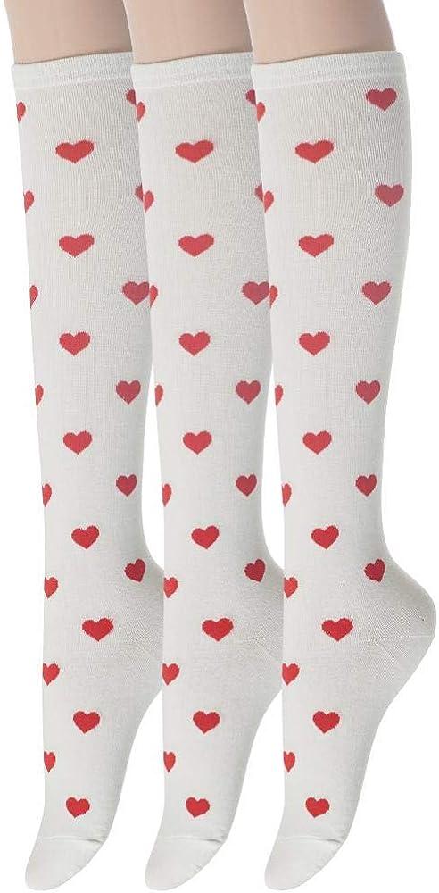 Sockstheway Knee High socks for Women Stripe Leopard Skull, Heart Twist Knit Argyle Triple Stripe Socks Styling Ideas
