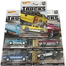 Hot Wheels 2016 Car Culture Trucks C Case Set of 5 Cars DJF77-956C