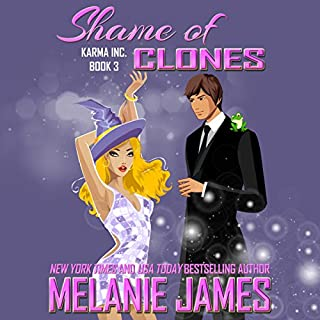 Shame of Clones audiobook cover art