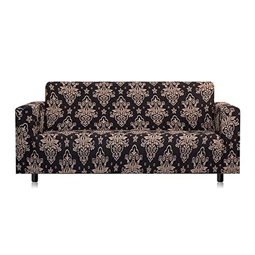 WXQY Funda de sofá elástica Funda de sofá elástica seccional para salón. Juego de Funda de sofá Todo Incluido Flexible Funda de sofá A9 3 plazas