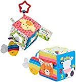 Early Learning Centre Blossom Farm Activity Cube, Stimulates Senses, Hand Eye Coordination, Baby Toys 0+ Months,  Exclusive, by Just Play