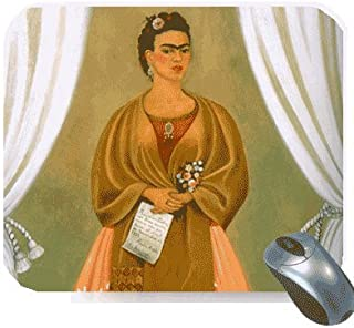 Frida Kahlo Mousepad - Self Portrait Dedicated to Leon Trotsky