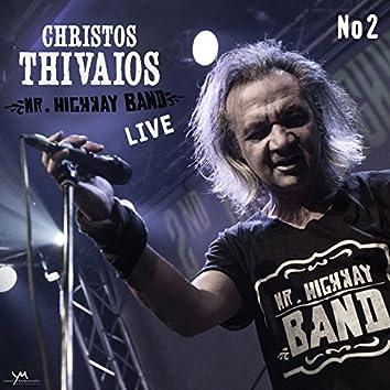 Christos Thivaios Live, Vol. 2