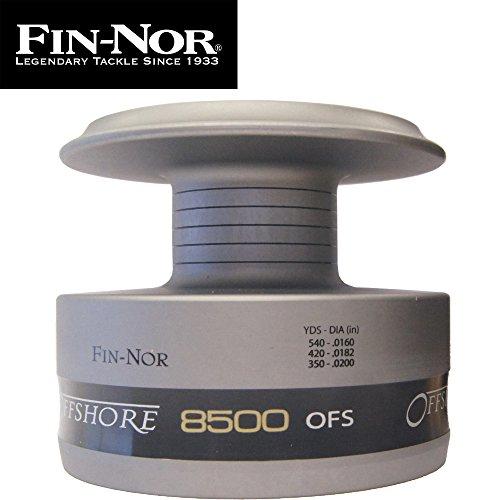 Fin-Nor E-Spule FN Offshore Spinning OFS8500 - Ersatzspule für Stationärrolle, Reservespule für Fin-Nor Meeresrolle, Rollenspule