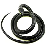 Paialco Realistic Rubber Snake Toy 52 Inch...